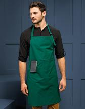 Deluxe Bib Apron with Pocket